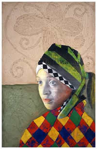 south african artist bongi bengu paintings