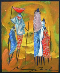 martin bulinya kenyan artist paintings