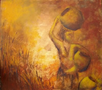 south african artist Tarryn Coop oil paintings