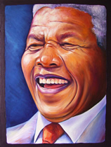 oil paintings of nelson mandela