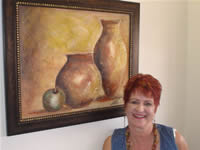 south african artist Marietjie Henning oil paintings