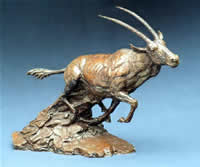 south african artist barry jackson bronze sculpture