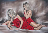 Ilse Kleyn south african artist oil paintings