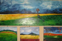 Louise Kluyts south african artist oil paintings