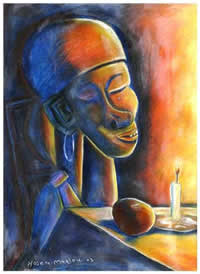 paintings by hosea matlou