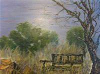 south african artist Juli Olivier oil paintings