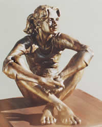 south african artist maureen quin bronze sculpture